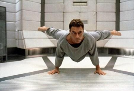 Obligatory stretching scene!