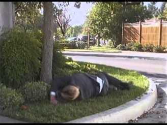 HAHAHAHA! HE FELL DOWN!