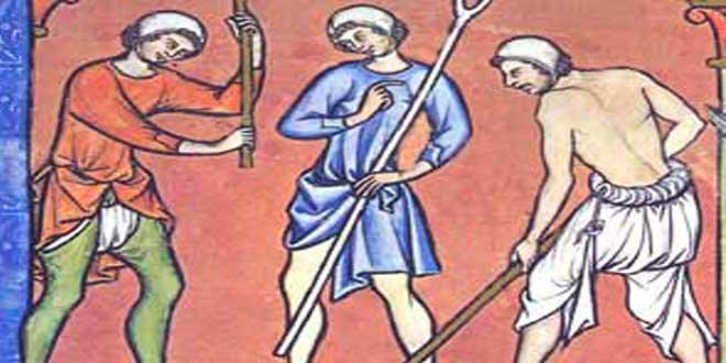 Braceros Medievales, 1244-1254, autor desconocido