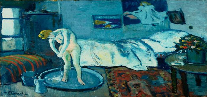 El hombre oculto en La Habitacin Azul de Picasso
