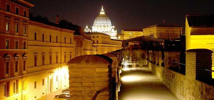 El pasadizo secreto del Vaticano