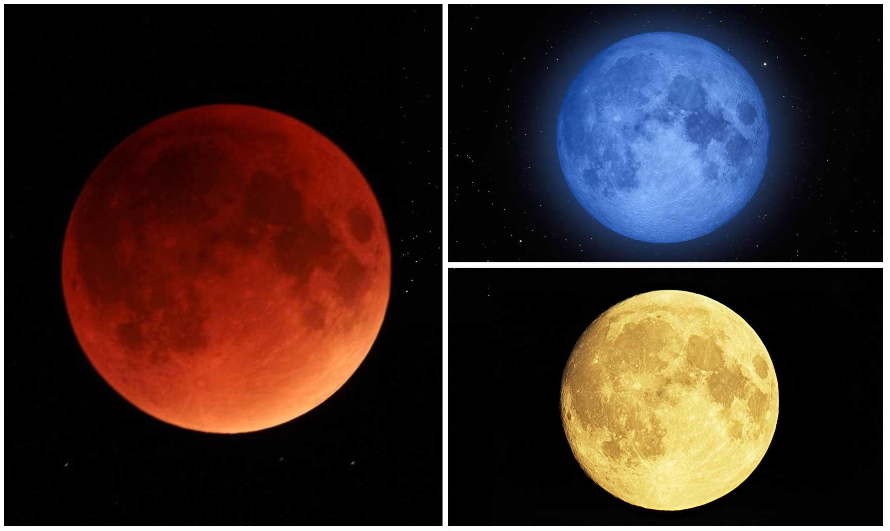 Los colores de la Luna y por qu se producen  Supercurioso