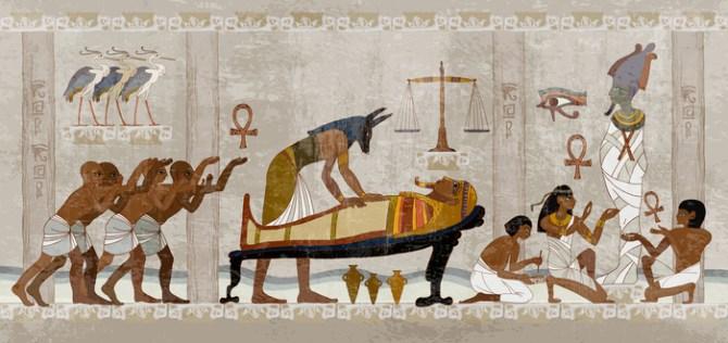 Morte no Egito Antigo