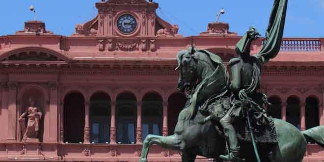 Por qu La Casa Rosada de Argentina tiene este color