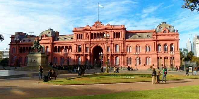 Por qu La Casa Rosada de Argentina es rosada