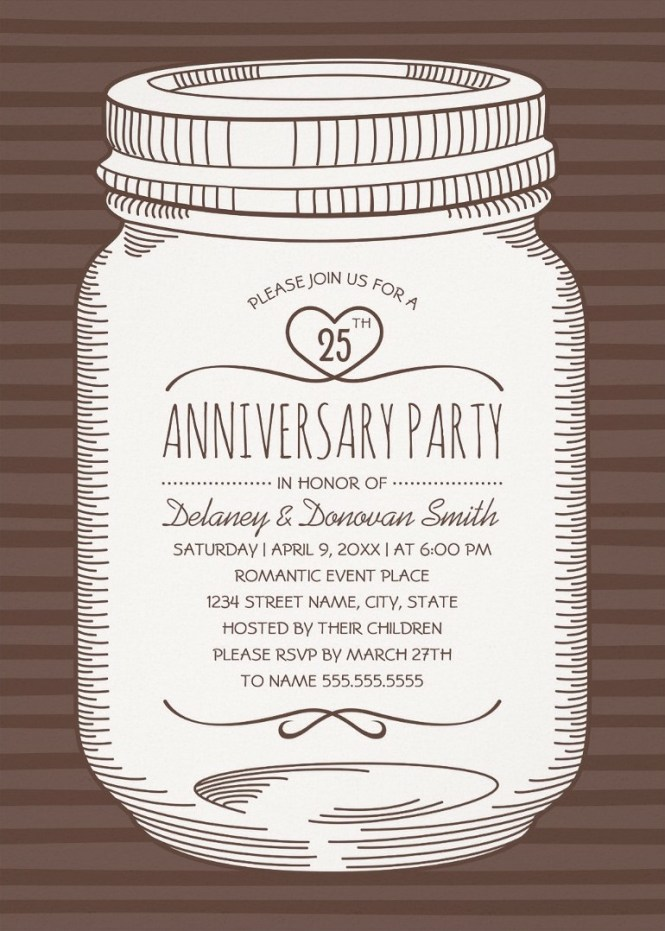 Wedding Anniversary Party Invitations Archives Superdazzle