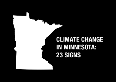Climate Change in Minnesota: 23 Signs