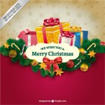 30 Free Christmas Greetings Templates & Backgrounds