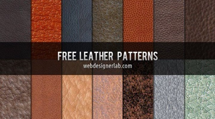 14 Free Leather Patterns