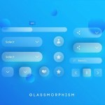 15 Glassmorphism UI Design Inspirations and Examples