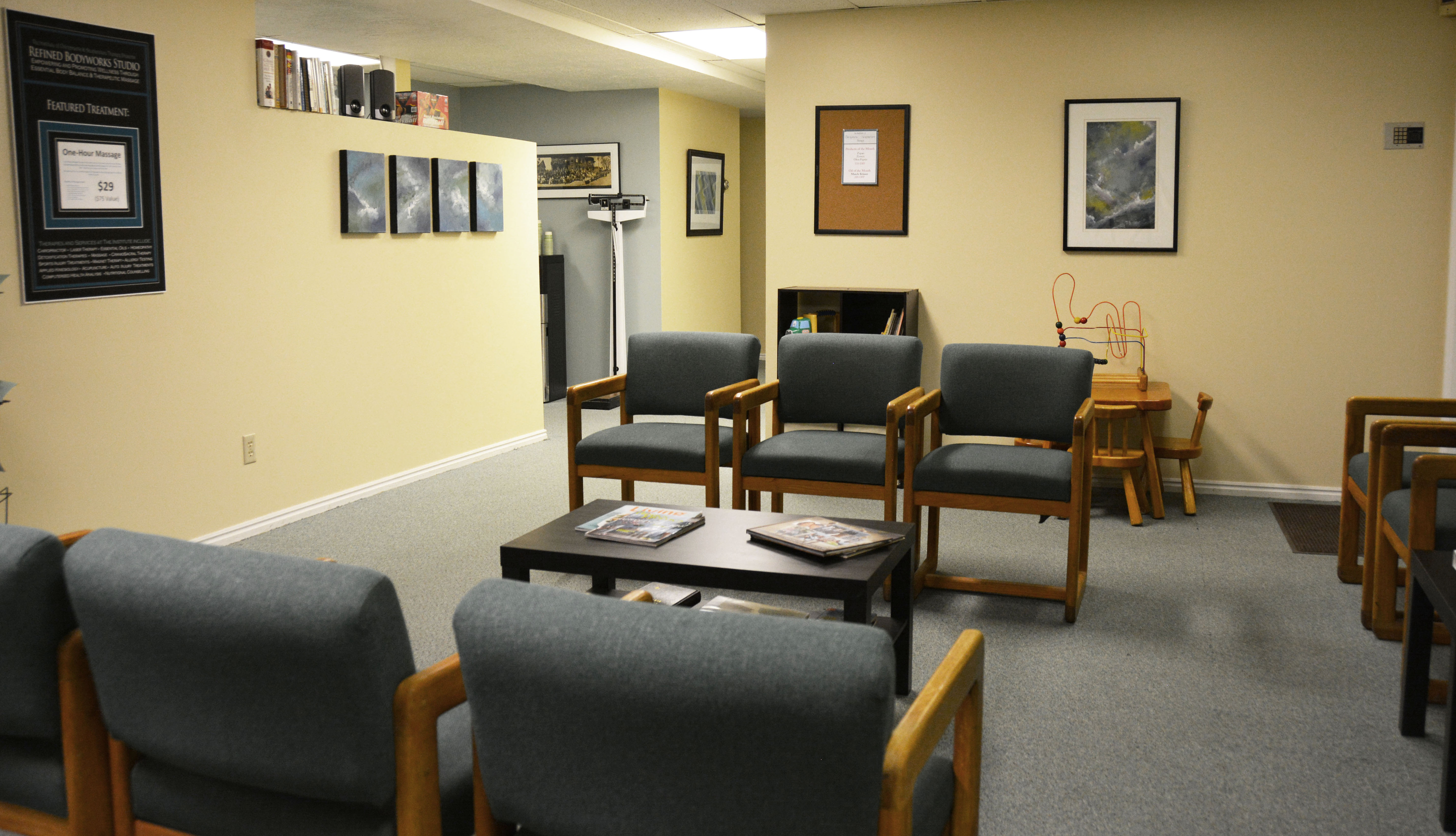 Office Tour Photos Chiropractic Office  Superdoc