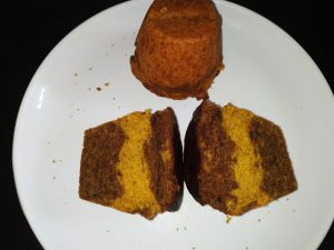 Eggless Whole wheat orange cake