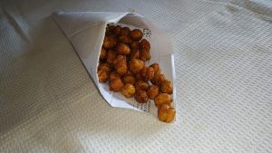 Oven roasted Chickpeas / Garbanzo beans