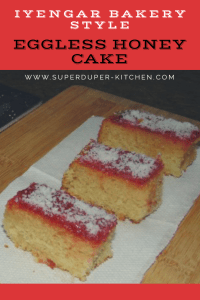 Eggless honey cake_pin