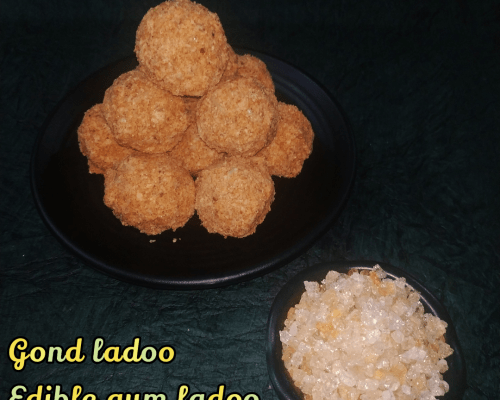 Gond / Edible gum ladoo