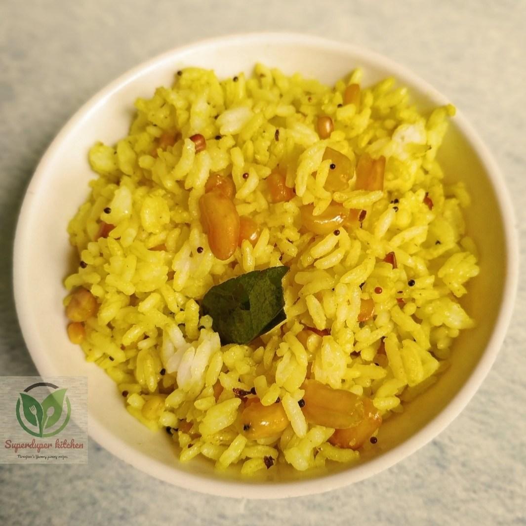 Aadi perukku_Lemon rice