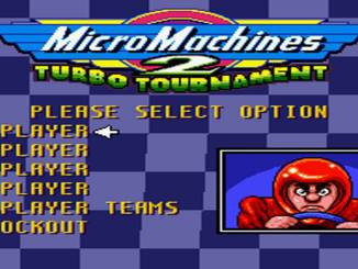 Micro Machines 2 Turbo Tournament