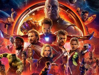 The Avengers and Thanos