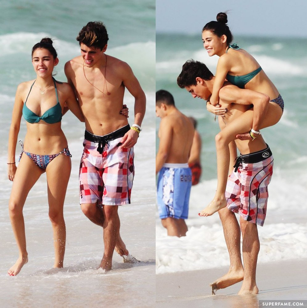 Jack Gilinsky  Madison Beer CAUGHT Getting Romantic at
