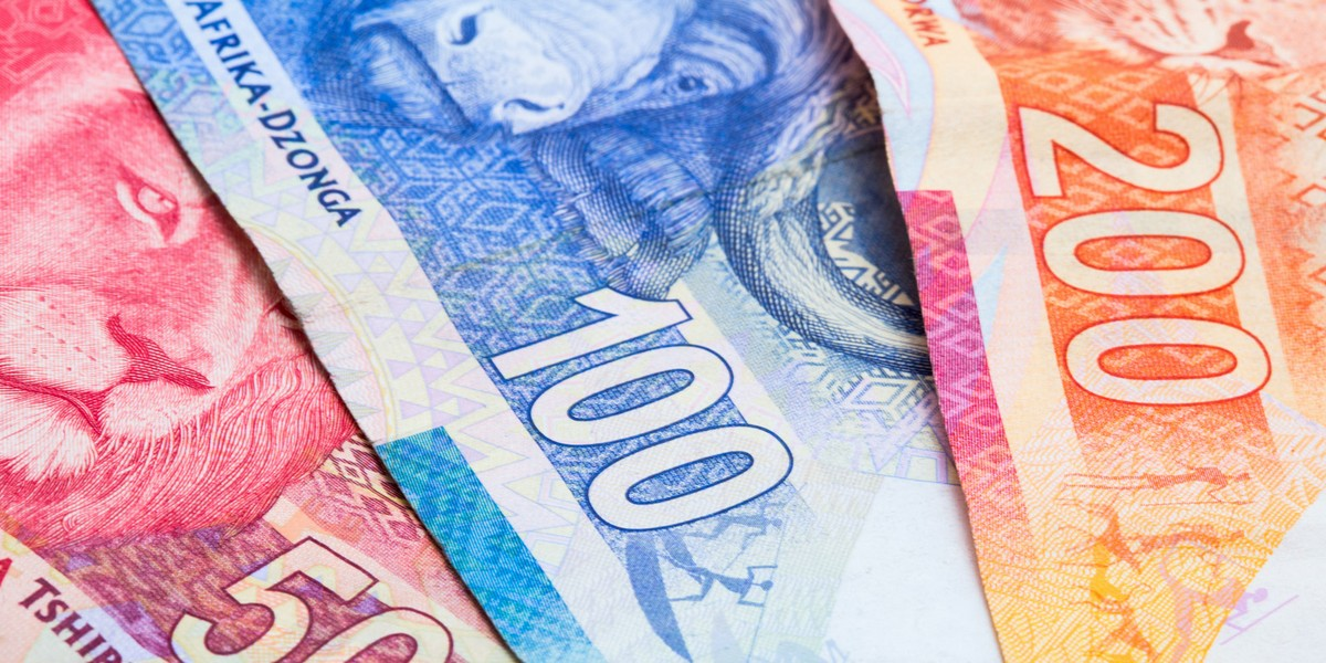 South African Rand Banknotes