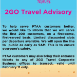 2Go PTTA Promo Announcement