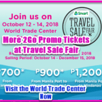 Promo Ticket Sale on 2Go Destination Nationwide at Travel Sale Fair