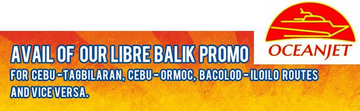 Oceanjet Libre Balik Promo