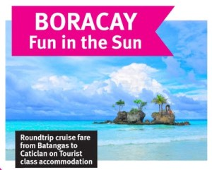 2Go Superferry Boracay Package 2015 to 2016