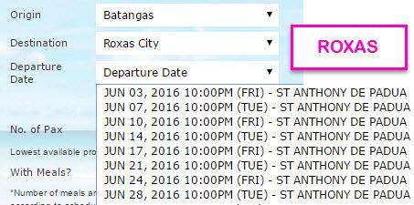 2Go to Roxas City