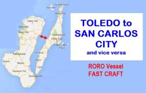 fast craft toledo to san carlos city