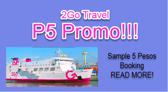 2Go 5 Pesos Promo Ticket Sale 2016