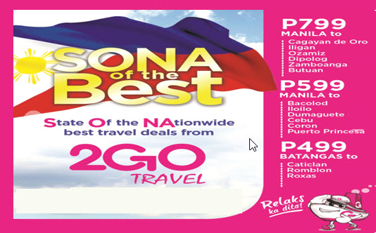 2Go Promo July and August 2016