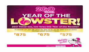 2Go Promo February March April May June July 2017