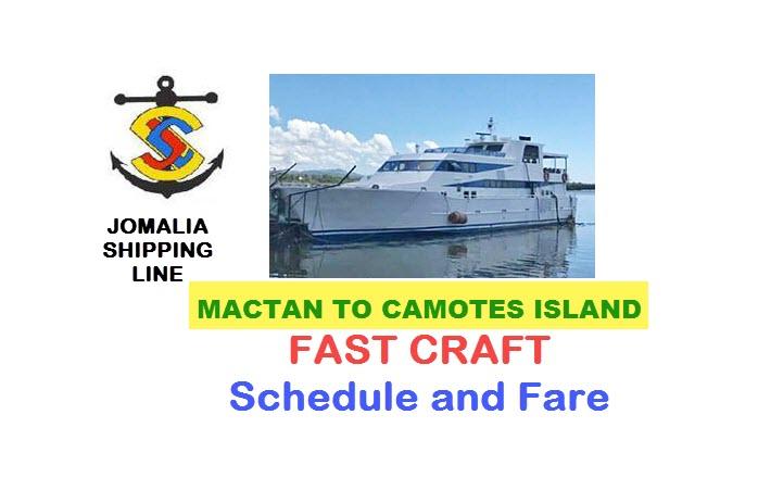 jomalia mactan to camotes fast craft