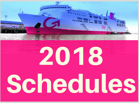 2018 Schedules 2Go Superferry