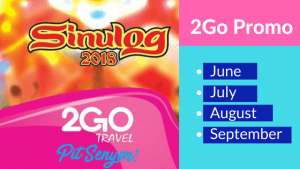 2Go Travel promo fares 2018 June to September
