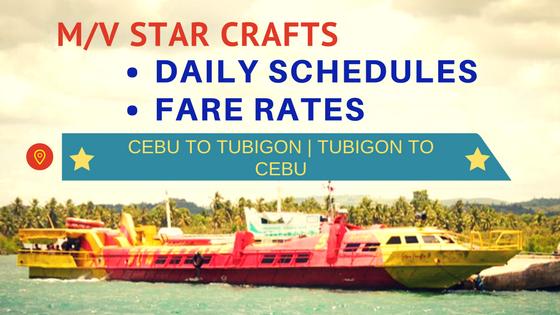MV STAR CRAFTS schedules and ticket prices