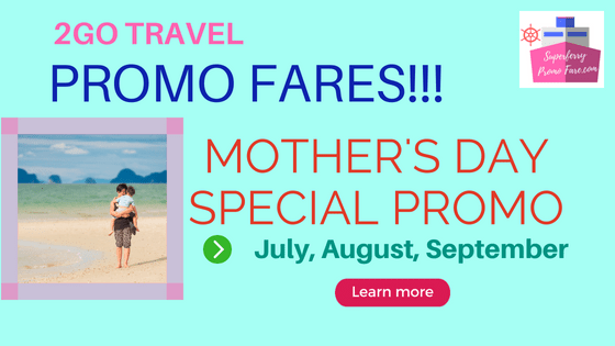 2go travel promo july august september 2018