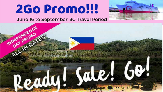 2Go Travel Promo Independence day