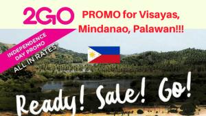 2018 2Go Promo for Coron, Puerto Princesa, Cebu, Iloilo, Cagayan, Dumaguete, Zamboanga, etc