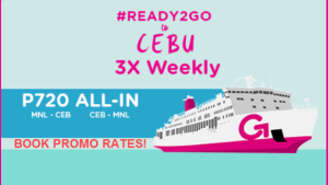 2018 2go promo manila to cebu