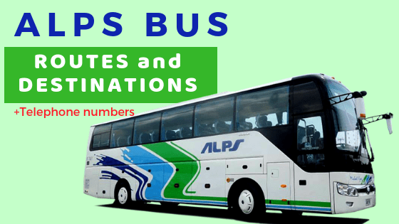 ALPS BUS Routes Destinations