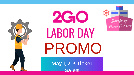 2go promo fare may 2019