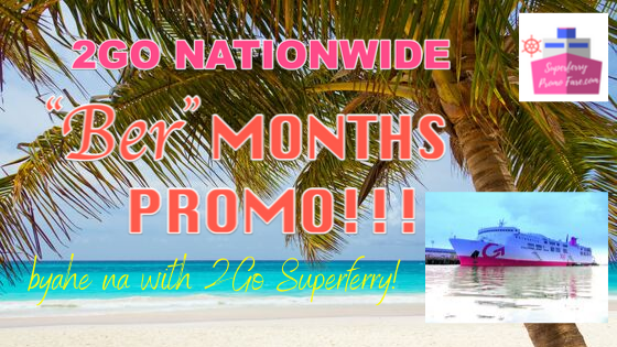 2go nationwide sea sale ber months