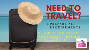 travel authority requirements covid shield