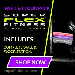 SuperFlex Wall & Floor Training Station