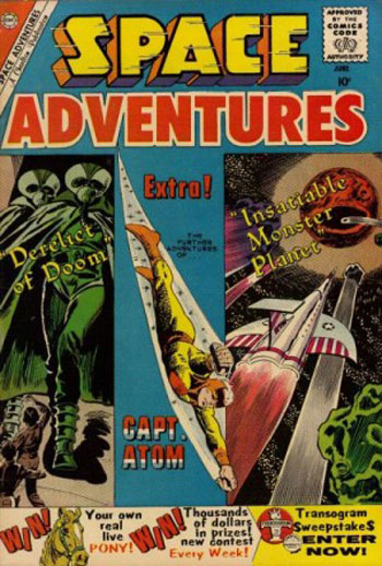 Space Adventures 34 with Captain Atom and a PONY!