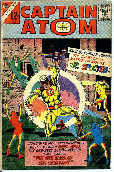 Captain Atom Volume 1 issue 81 featuring Dr. Spectro!
