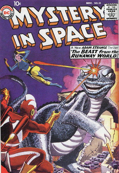 Mystery In Space-#55 cover by Gil Kane