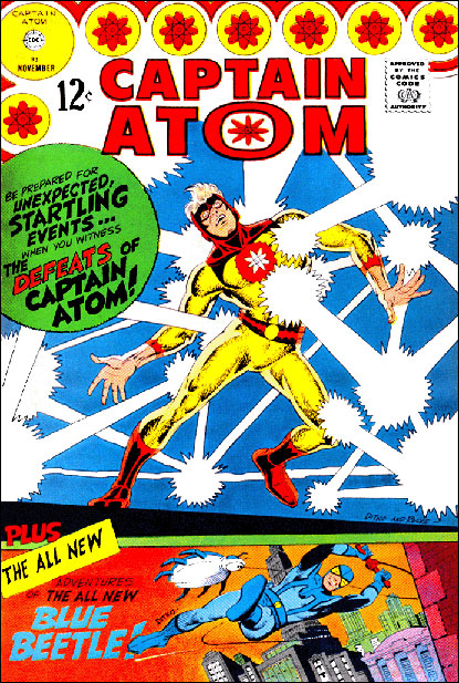 Captain Atom 83 featuring a startling transformation!